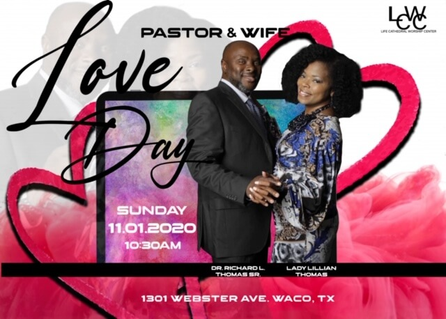 Love Day Pastor & Wife